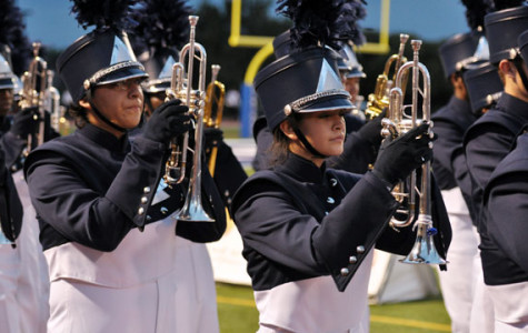Band advances to state marching contest