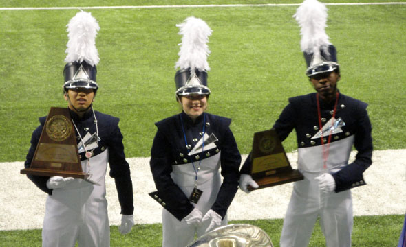 Marching band finishes season with bronze medal at state marching contest