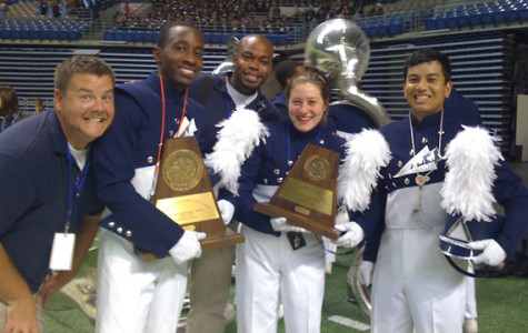 Band finishes third in State Marching Contest