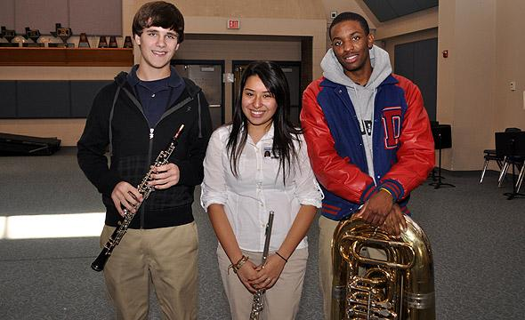 Band students advance to All-State