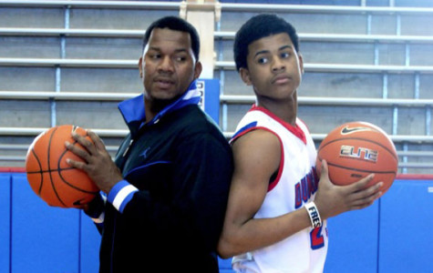 Jerami Grace and his father Ricky Grace photos
