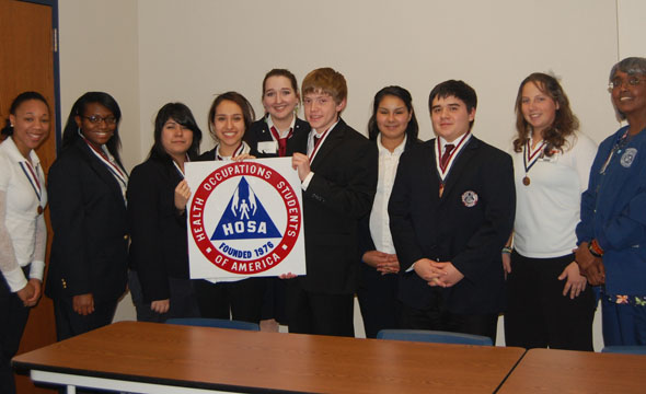 HOSA students advance to State contest