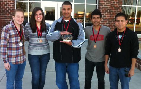 Journalism UIL team wins Highest Placing Team at Legacy meet