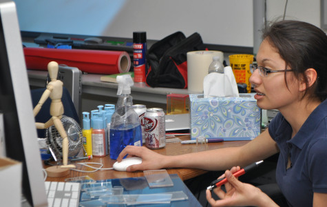 Photos: Graphic Arts students work on Skills USA state project