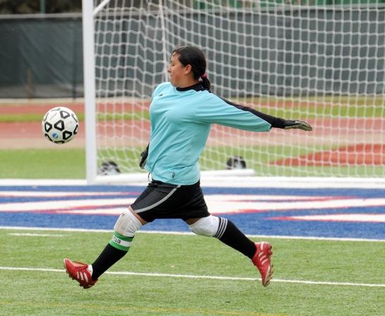 Girls JV2 soccer vs. SGP