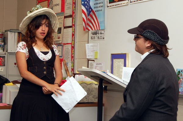 Photos: Mrs. Ramona Simons' English classes present 'Great Expectations' projects
