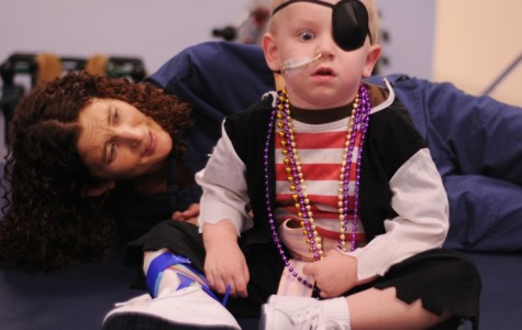 Tristan Russell undergoes evening therapy @ Baylor's Our Children's House