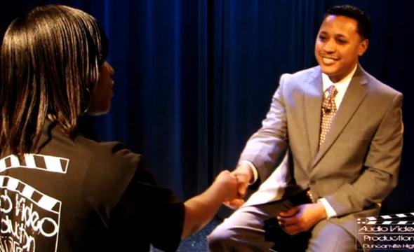 Q& A with New High School principal Elijah Ganger