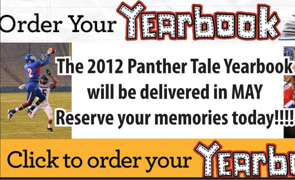 2012 Yearbooks are now on sale