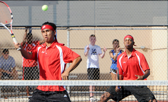 Tennis team headed to regional tournament as first seed in district