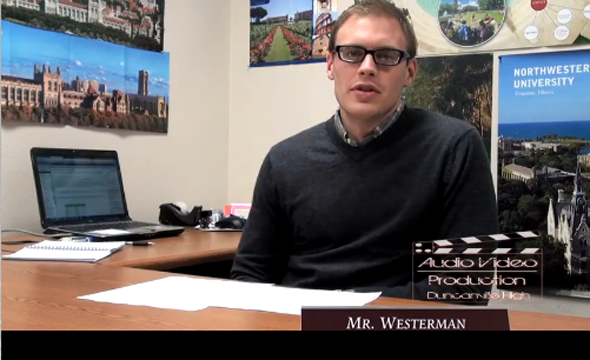 Video: Westerman offers college tips to seniors