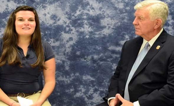 Video: Take 5 with new Interim Principal James Randolph