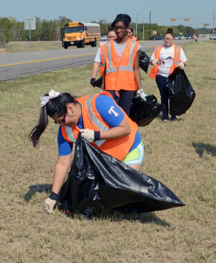 A photo from a previous high way clean up.
