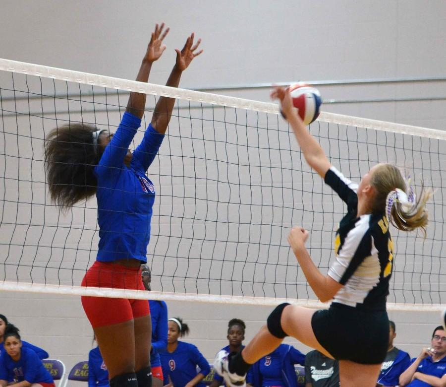 JV+Volleyball+vs.+Richardson+
