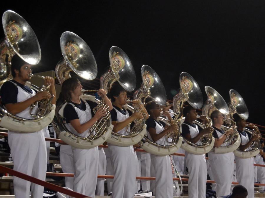 Band+at+Homecoming+2012