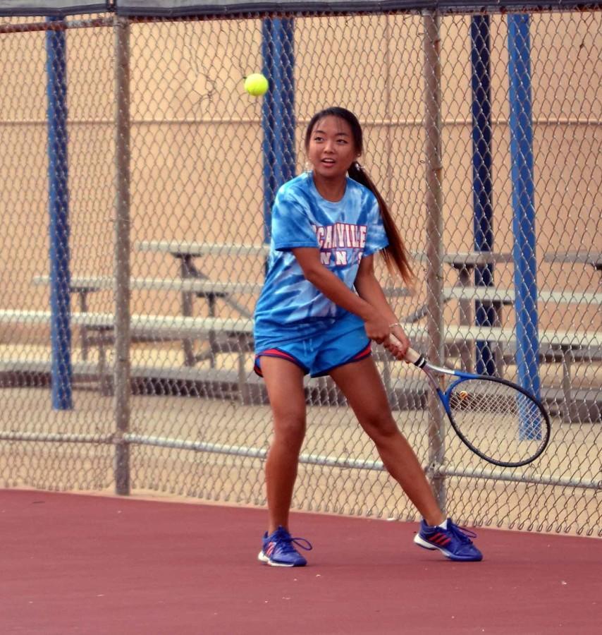 Photos: Photos: Varsity Tennis vs Midlothian