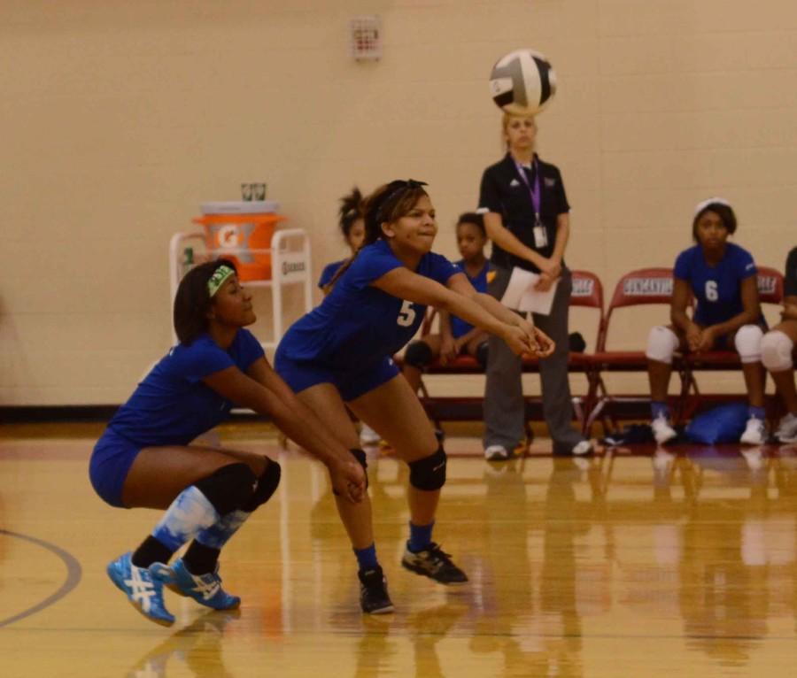 Photos%3A+Freshman+Volleyball+vs.+Mansfield