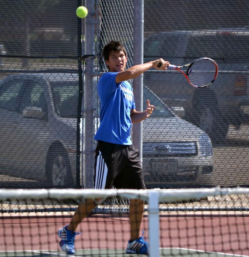 Photos%3A+Varsity+Tennis+vs+Mansfield