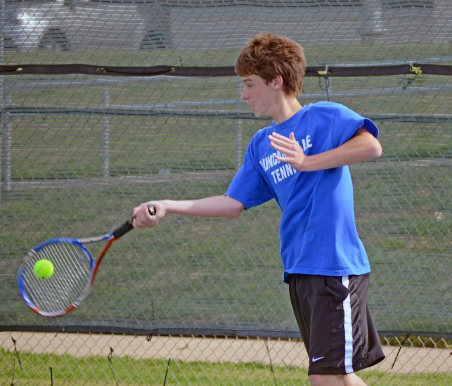Photos: Varsity Tennis vs Plano East