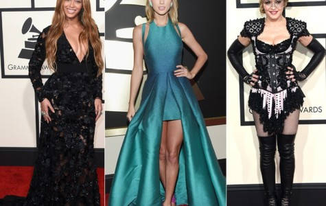 Stars shock and shine at the 57th Annual Grammys