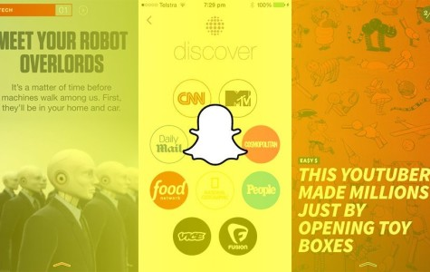 "Snapchat update allows users to ""discover"""