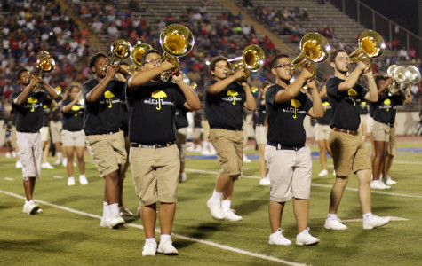 Band takes field with new show, new look