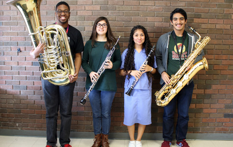 Four band members receive All- State honors