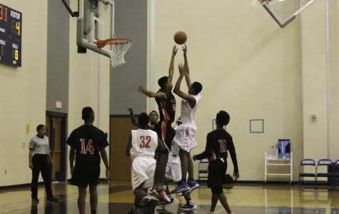 Freshman boys basketball play against Cedar Hill