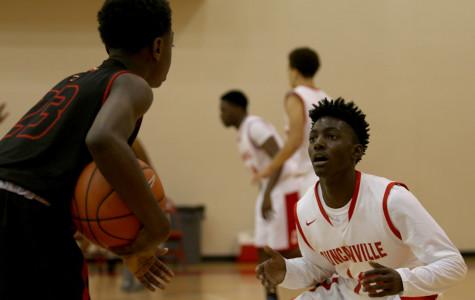 JV boys basketball plays South Grand Prairie