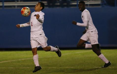 Varsity boys soccer ties with Rockwall