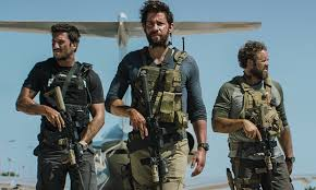 Bay's movie features stars  James Badge Dale, John Krasinski, and Max Martini. The film centers around the Benghazi attack of September 11, 2012.