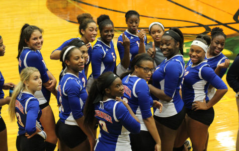 Varsity Volleyball gets the better of DeSoto