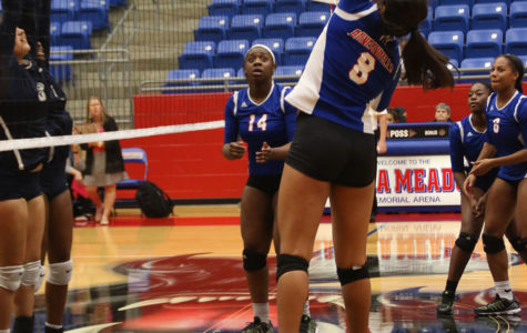 Varsity Volleyball defeats Irving Nimitz