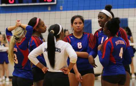 Varsity Volleyball triumphs over Grand Prairie
