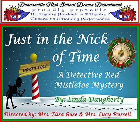 Theatre presents Holiday Show Dec. 13-16 7 p.m.