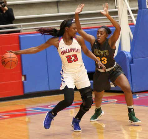 Pantherettes move to final Area round after win over Plano West