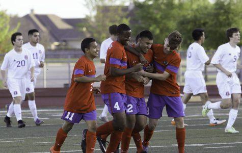 Varsity Soccer dominates Waco Midway