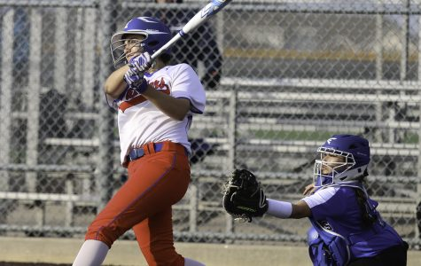 Softball team finishes first round of district undefeated