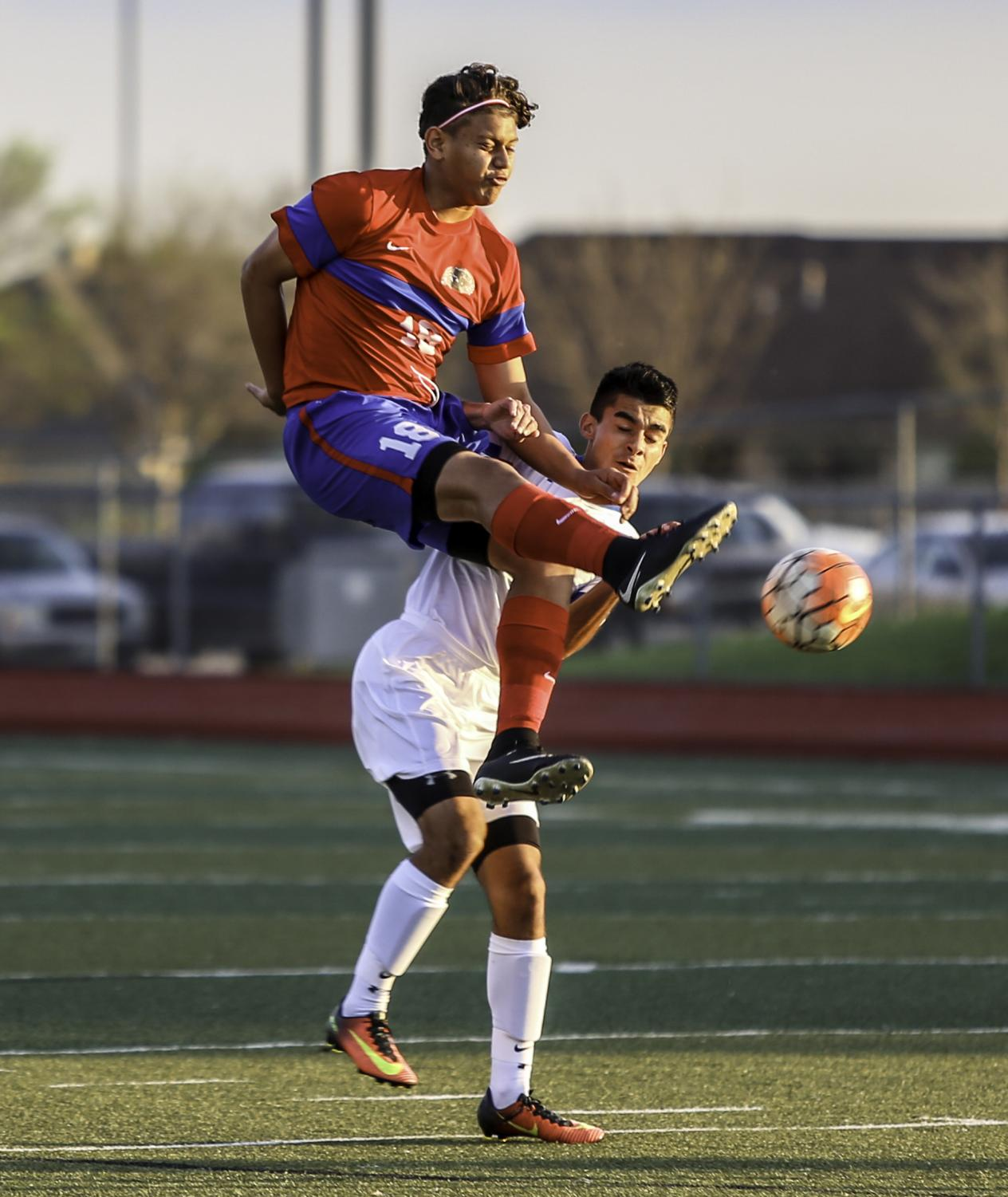 Tonight's soccer game features two top powers in the state and the Panthers know they must fight for the win. (Brenda Arana photo)