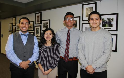 Four students named National Hispanic Scholars