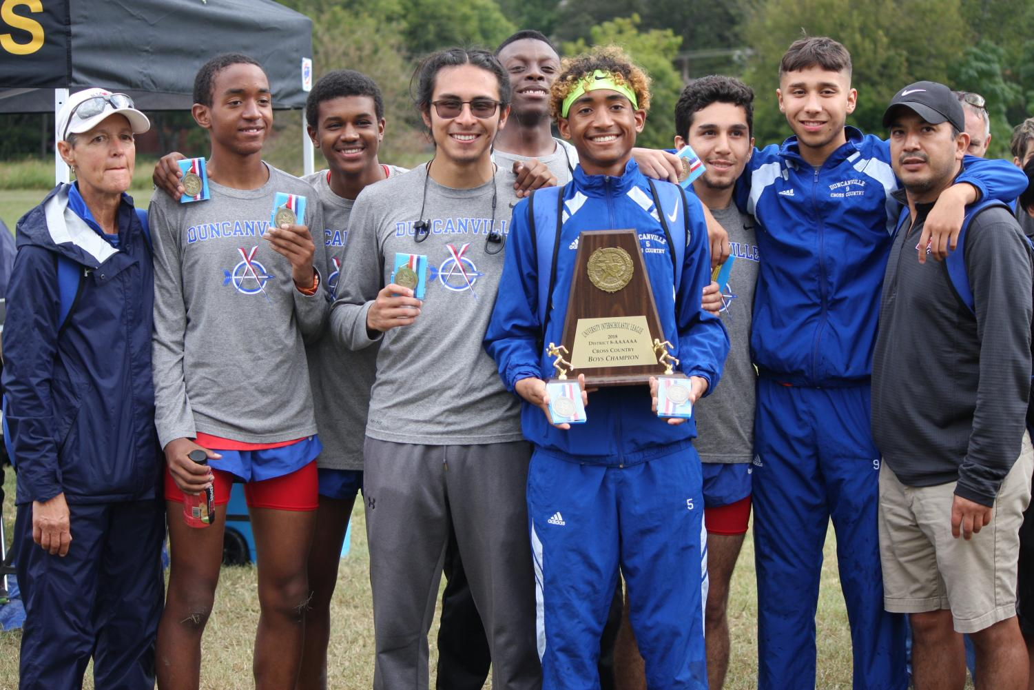 Cross Country In District Meet!