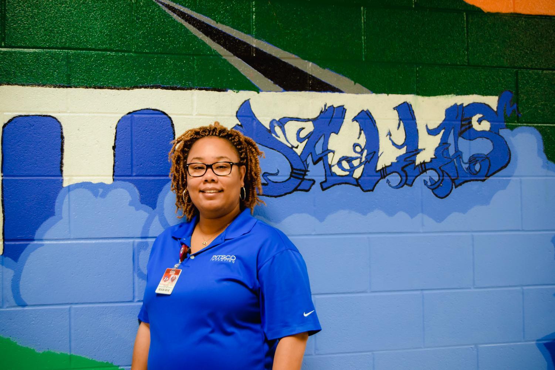 CTE Teacher Mrs. Jones is the teacher of the Week!!