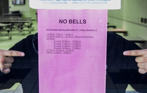 No Bell Schedule from Monday Dec.3rd- Friday Dec. 7th