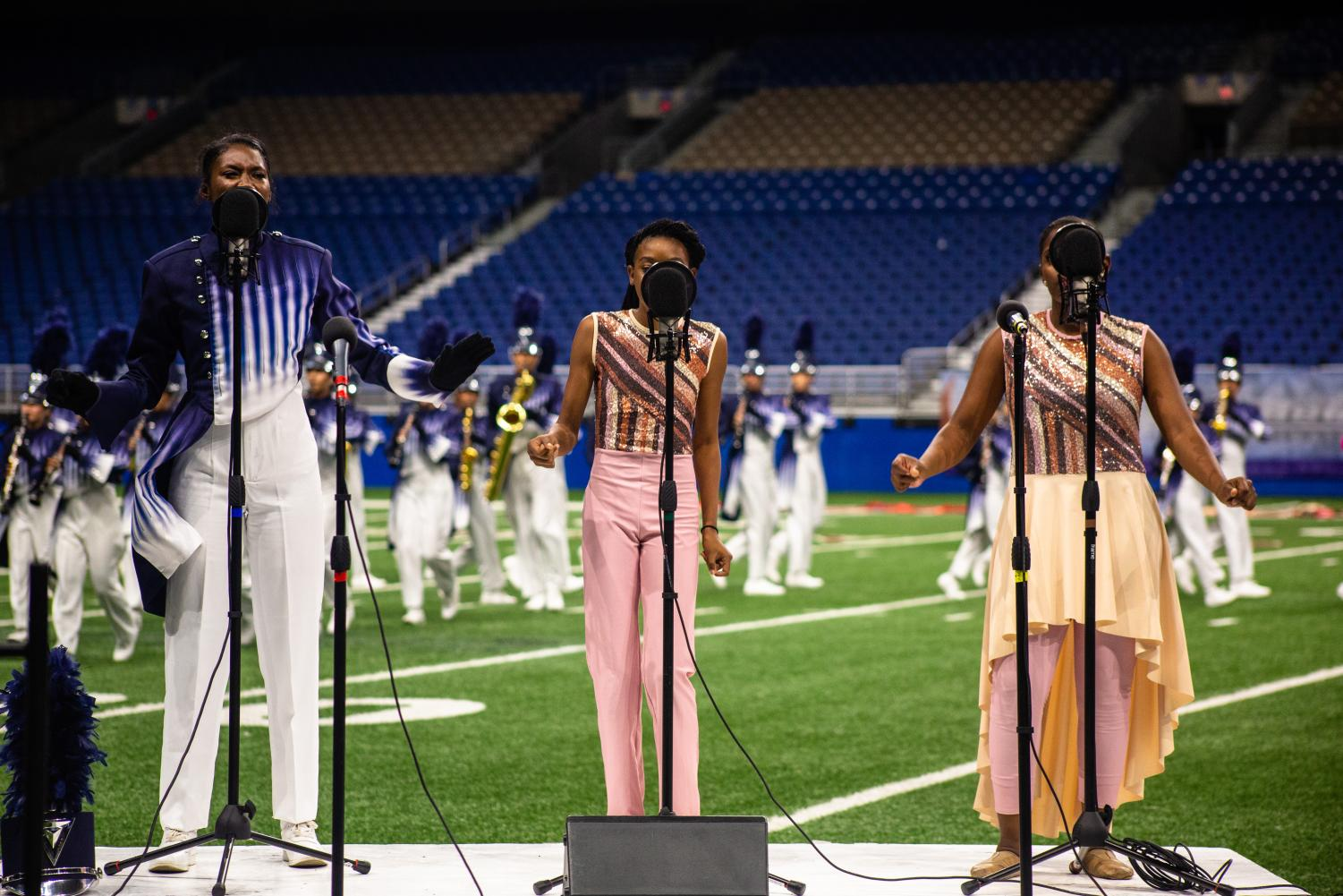 """poor family."""" Duncanville Band director Chuck Moon said."""