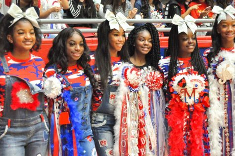 Mums were larger and smiles were grand at the Homecoming Pep Rally!