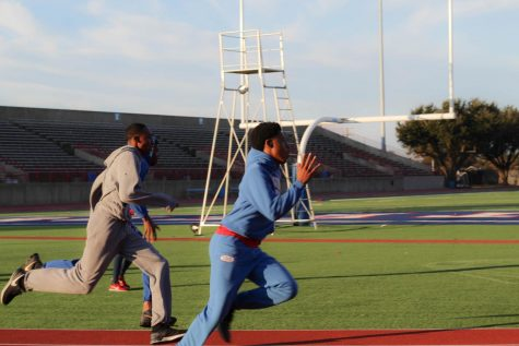 DHS Track Team Practices For Upcoming Season
