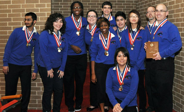AcDec wins Regional contest brings home 67 medals