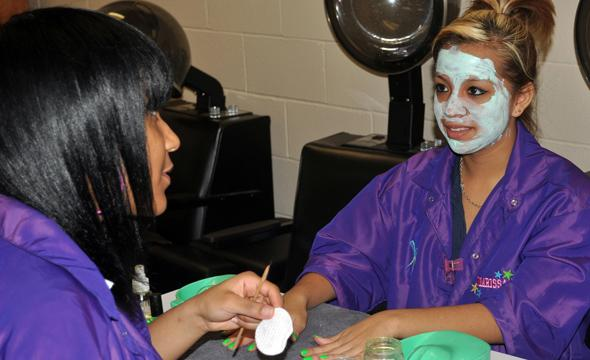 Cosmetology department offers students opportunity to learn trade