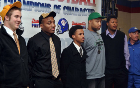 Players honored at mock National Signing Day