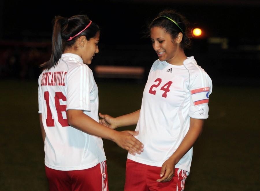 Varsity+Girls+soccer+vs.+South+Grand+Prairie